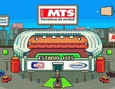Juego Copa Chile MTS.