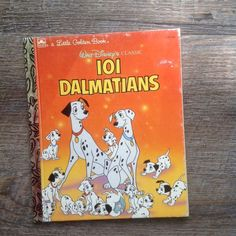 Walt Disney's 101 Dalmatians 105-84 Little Golden Book 1991 Korman Langley Dias