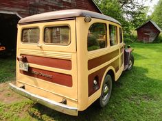 1948 Willys Station Wagon - Photo submitted by Warren Sjoberg.