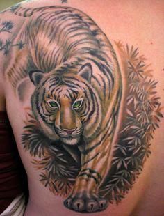 TIGER TATTOO By Beto Munoz Of...   BEAUTIFUL!!!!!