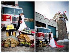*Real Wedding*Outdoor Wedding*Rocky Mountain Wedding*Banff/Canmore Wedding*Photographer*Bride and Groom Portrait*winter wedding*Firefighter themed wedding*Banff Firehall Wedding*www.kimpayantphotography.com