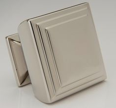 Decorative Hardware - Square Knob - Terrace Collection | Water Street Brass #CabinetHardware #CabinetKnobs