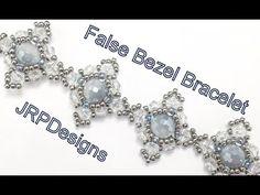 False Bezel Bracelet--Intermediate Tutorial Left Hand - YouTube
