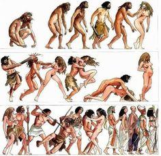 Η ιστορία της εξέλιξης του ανθρώπου είχε δύο βασικά χαρακτηριστικά: σεξ και βία. Και ο