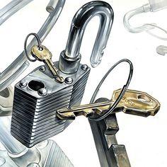 합격의 열쇠~! #기초디자인 #개체표현 #개체묘사 #자물쇠 #열쇠 #열쇠고리 #링 #잠금해제 #화면구성 #디자인 #미술학원 #미대입시생 #미대생 #composition #design #drawing #dessin #artist #art #lock #unlock #padlock #key #clue #watercolor