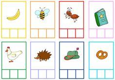 (2016-06) Stavelser Name Activities, Kindergarten Activities, Primary School, Pre School, Name Crafts, Cycle 1, Teaching Materials, First Grade, Classroom Management
