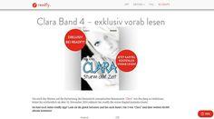 #PeaJung exklusiv bei #readfy: Vorab-Veröffentlichung aus 4. Band der Romantasy-Erfolgsreihe #Clara