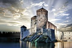 Savonlinna Savonlinna, nestled by Lake Saimaa, is great for both short city breaks and lakeside cottage holidays. The main cultural event is the annual Savonlinna Opera Festival, held in the medieval Olavinlinna Castle. The Places Youll Go, Places To See, Short City Breaks, Chateau Medieval, Lakeside Cottage, Beautiful Castles, City Landscape, Best Cities, Helsinki