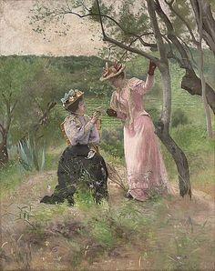 Ferdinand Heilbuth (French, 1826-1889).