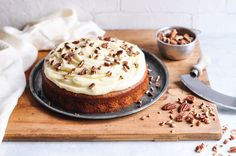 An easy and delicious recipe for a Classic Banana Cake with Cream Cheese Frosting.