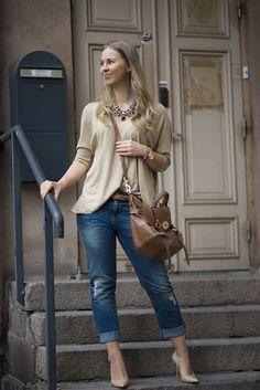 Boyfriend jeans | Mona's Daily Style