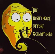 Rick and Morty x The Nightmare Before Schwiftmas Rick And Morty, Justin Roiland, Funny Cartoons, Adult Cartoons, Get Schwifty, Stuff And Thangs, Nerdy, Metalocalypse, Geek Stuff