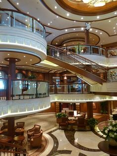 Cunard Queen Elizabeth.  Looks lovely, we go in Feb 2014! I will spend my birthday on here.  Should be fun.