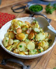 Recette de Salade de topinambours ou d'artichauts de Jérusalem
