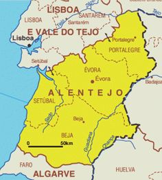 The Alentejo Region is divided into two Provinces, Upper Alentejo (Alto Alentejo) and Lower Alentejo (Baixo Alentejo).  The name ALENTEJO means beyond the Tejo (River Tagus in English). Baixo Ale…
