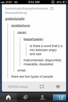 Smad, y'all.