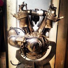 @20thcenturyracing 1923 J race bike motor