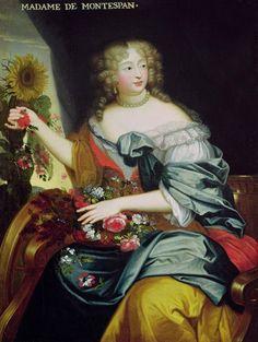 Madame de Montespan, 1670's, French school