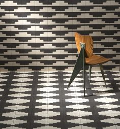 Living in Black and White: Commune's New Concrete Tiles - Remodelista