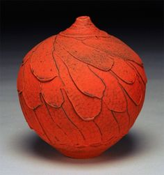 Nicholas Bernard- That color/surface! Wow! and I don't normally like orange....