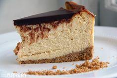 Irish Car Bomb Cheesecake with Guinness Ganache | Camp Makery