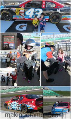 Richard Petty Driving Experience Junior Ride Along – #Kansas Speedway