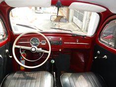 Fusca 1970 Vermelho Original