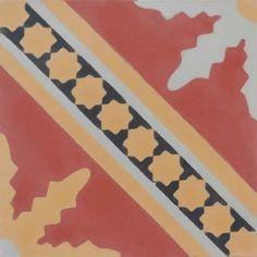 Fez - Barcelona Cement Floor Tile