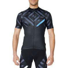 Men s Cycling Pro All-Season Jersey (Cyan) - ROKA Sports b32ecd4c8
