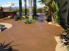 This awesome pool surround was done recently by Kevin Brown in CA. Way to go Kevin it's beautiful!!!!!