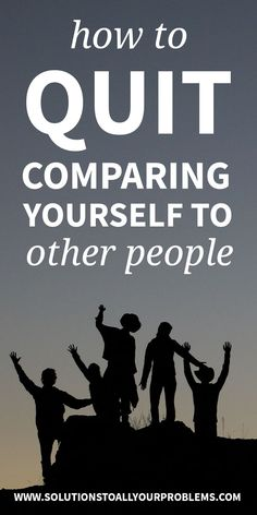 How To Stop Comparing Yourself To Others - Here are the five things I do whenever the urge to compare myself to other people shows up! Mental Health Articles, Improve Mental Health, Health Tips, Overcoming Depression, Overcoming Anxiety, Natural Anxiety Relief, Stress Relief, Natural Remedies For Depression, Stop Comparing