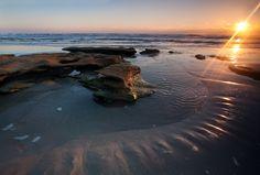 sunset beach washington oaks state park, palm coast FL