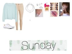 """""""Sunday"""" by isabellasmall on Polyvore featuring J Brand, Converse, Juicy Couture, Bluebellgray, Itsy Bitsy and Charlotte Russe"""