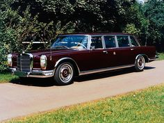 Mercedes-Benz 600 Pullman (W100) - Shah Mohammad Rez…