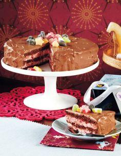 Mansikka-suklaakakku   Täytekakut   Pirkka