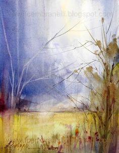"""Landscape VIII"" by Fábio Cembranelli - A Painter's Diary"