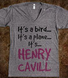 Its a bird.. Its a plane... Its.. Henry Cavill (Man Of Steel - Superman)