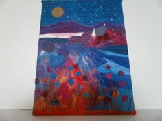 The Hideaway Textile Art by wendieshouse on Etsy
