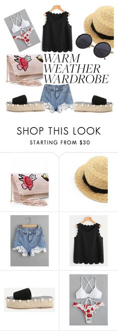"""""""Heat wave on its way"""" by ritaosantos ❤ liked on Polyvore featuring Summer, romwe, summerstyle, summerlook and heatwave"""