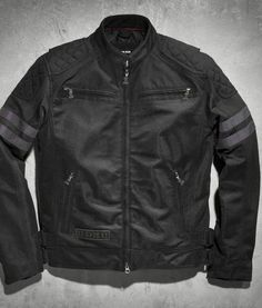 23596acdc833 Harley-Davidson® Men s Black Label Excam Warrior Mesh Jacket Harley Davidson  Online Store