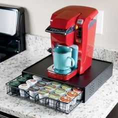 36 Pod Metal Coffee Storage Drawer
