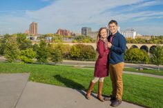 Minneapolis engagement photos--Justine Diffee Photography