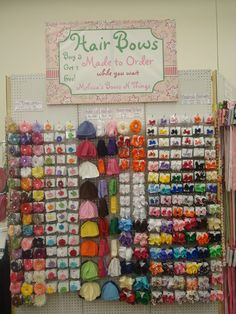 Hairbows for every little girl!