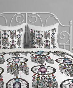 Look at this #zulilyfind! Sharon Turner Gemstone Dream Catcher Duvet Cover by DENY Designs #zulilyfinds