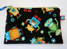 Robots  Make Up Bag  Pencil Case £6.00