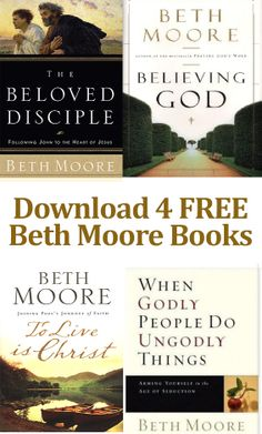 Awesome deal - get 4 Beth Moore books for free!