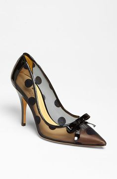 kate spade new york 'lisa' pump...I think these are sheer/see through.  I'll bet they're adorable on!!!