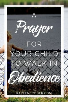 Do you regularly pray for your child to obey? Grab this prayer for your child's heart to help him obey God and seek God in all things. Don't miss this powerful prayer prompt for your child! Prayer For Our Children, Raising Godly Children, Prayer For You, Power Of Prayer, Daily Prayer, Prayers For My Daughter, Mom Prayers, Bible Prayers, Raising Kids Quotes