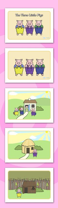 Twinkl Resources >> The Three Little Pigs Story Sequencing >> Printable resources for Primary EYFS and SEN. Thousands of classroom displays and teaching aids! Topics Traditional Tales The Three Little Pigs Story Sequencing Language Activities, Book Activities, Three Little Pigs Story, Esl Learning, Story Sack, Story Sequencing, Traditional Tales, Education And Literacy, Teaching Aids