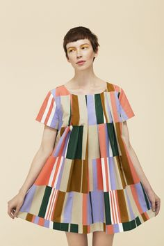 marimekko mirri tunic want the smock, want the hair, want the eye-shadow!